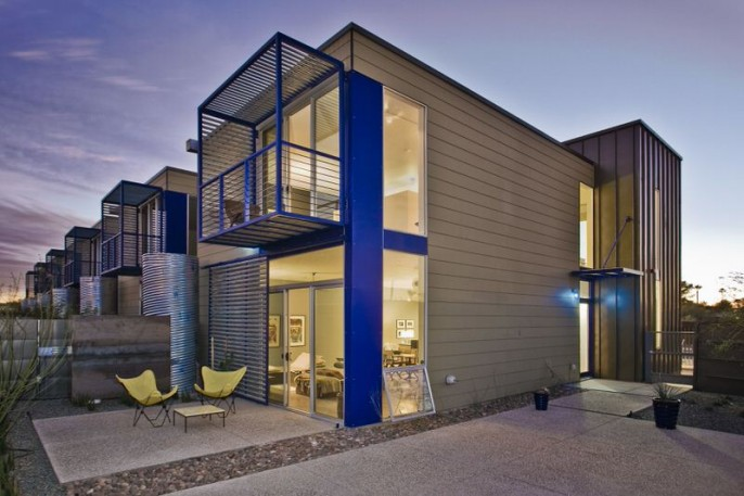 Indigo Modern Housing Rob Paulus Architects
