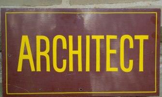 Architect Sign