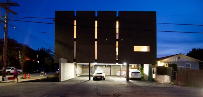 Matthew Segal Fancy Lofts Exterior Parking