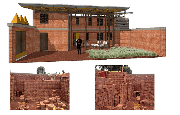 Sovich Architecture Social Housing Cameroon